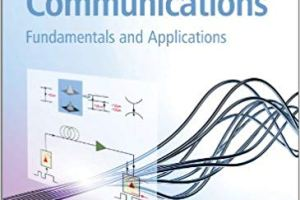 Fiber Optic Communications Fundamentals and Applications PDF