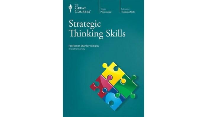 Strategic Thinking Skills by Stanley K Ridgley
