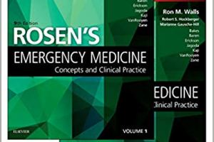 Rosen's Emergency Medicine Concepts and Clinical Practice Volume 1&2 pdf