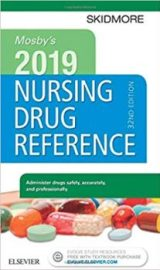 Mosby's 2019 Nursing Drug Reference PDF