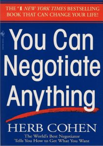 You Can Negotiate Anything PDF