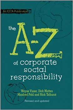 The A to Z of Corporate Social Responsibility PDF