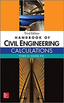 Handbook of Civil Engineering Calculations 3rd Edition PDF