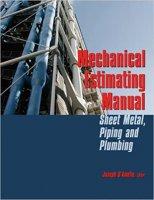 Mechanical Estimating Manual: Sheet Metal, Piping and Plumbing PDF