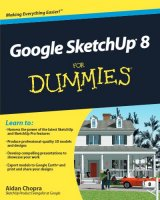 Google SketchUp 8 For Dummies PDF