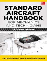 Standard Aircraft Handbook for Mechanics and Technicians PDF
