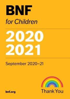 BNF for Children 2020-2021 PDF