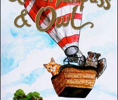 Queen Purrpuss & Owl By Uncle Jasper