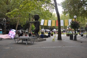 Occidental Park, Seattle.