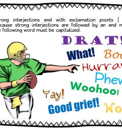 Parts of Speech ~ Interjections   Book Units Teacher [ 816 x 1056 Pixel ]