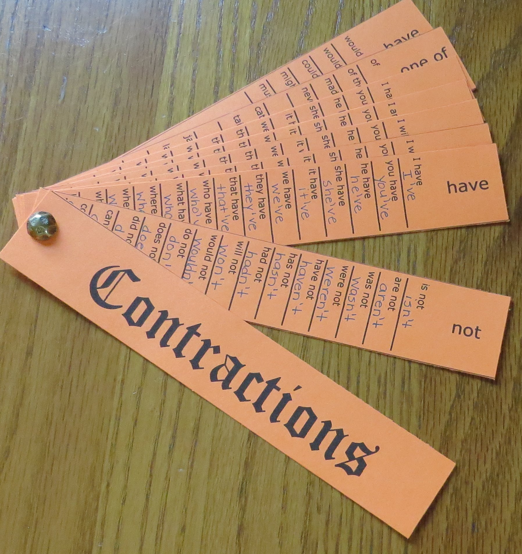 hight resolution of Contraction Activities for the Classroom   Book Units Teacher