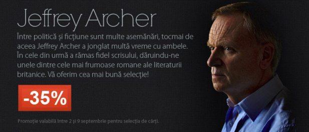 jeffrey archer, romancier britanic