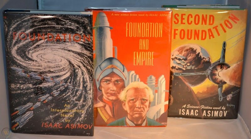 """""""Foundation"""" by Isaac Asimov (First editions)"""