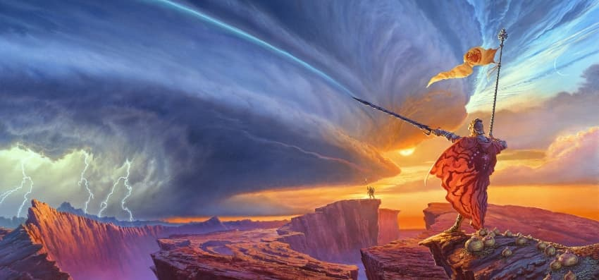 Epic Fantasy Page Header Image