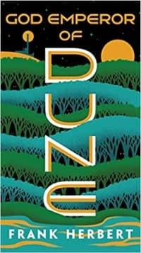 """""""God Emperor of Dune"""" by Frank Herbert (Book cover)"""
