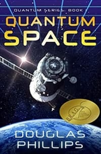 """""""Quantum Space"""" by Douglas Phillips (Book cover)"""