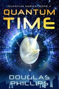 """Quantum Time"" by Douglas Phillips (Book cover)"