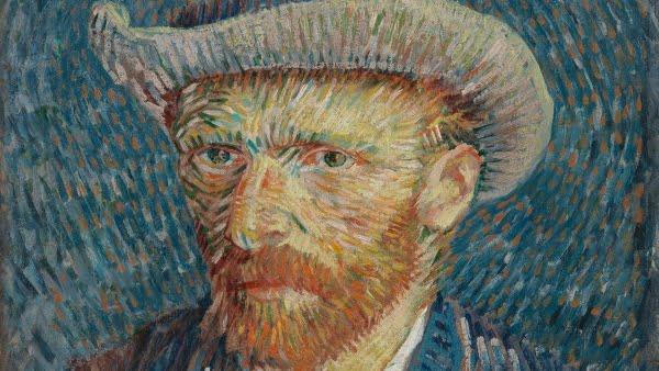 Vincent van Gogh. Self-Portrait with Grey Felt Hat