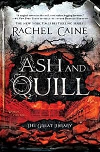 """""""Ash and Quill"""" by Rachel Caine (Book cover)"""