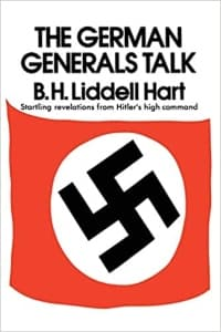 """The German Generals Talk"" by Basil Liddell Hart (Book cover)"
