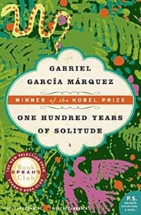 """One Hundred Years of Solitude"" by G. G. Marquez (Book cover)"