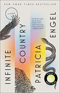 """""""Infinite Country"""" by Patricia Engel (Book cover)"""