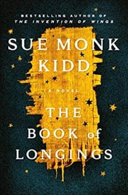 """""""The Book of Longings"""" by Sue Monk Kidd (Book cover)"""