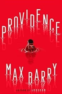 """""""Providence"""" by Max Barry (Book cover)"""