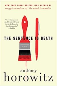 """""""The Sentence is Death"""" by Anthony Horowitz (Book cover)"""