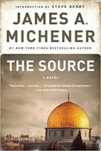 """""""The Source"""" by James A. Michener (Book cover)"""