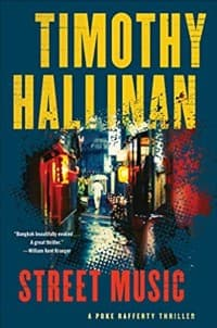 """""""Street Music"""" by Timothy Hallinan (Book cover)"""