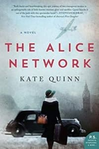 """""""The Alice Network"""" by Kate Quinn (Book cover)"""