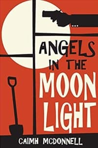 """""""Angels in the Moonlight"""" by Caimh McDonnell (Book cover)"""