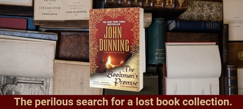"""""""The Bookman's Promise"""" by John Dunning (Header image)"""