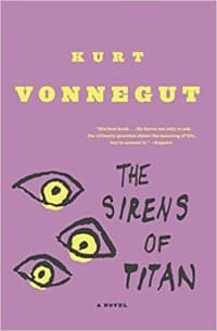 """The Sirens of Titan"" by Kurt Vonnegut (Book cover)"