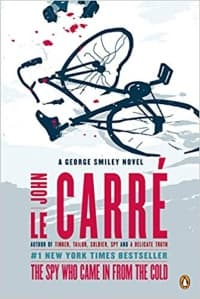 """""""The Spy Who Came in from the Cold"""" by John le Carre (Book cover)"""