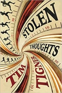 """""""Stolen Thoughts"""" by Tim Tigner (Book cover)"""
