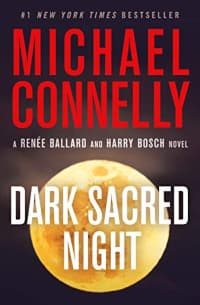 """""""Dark Sacred Night"""" by Michael Connelly (Book cover)"""