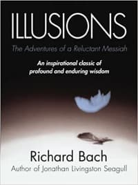 """""""Illusions"""" by Richard Bach (Book cover)"""