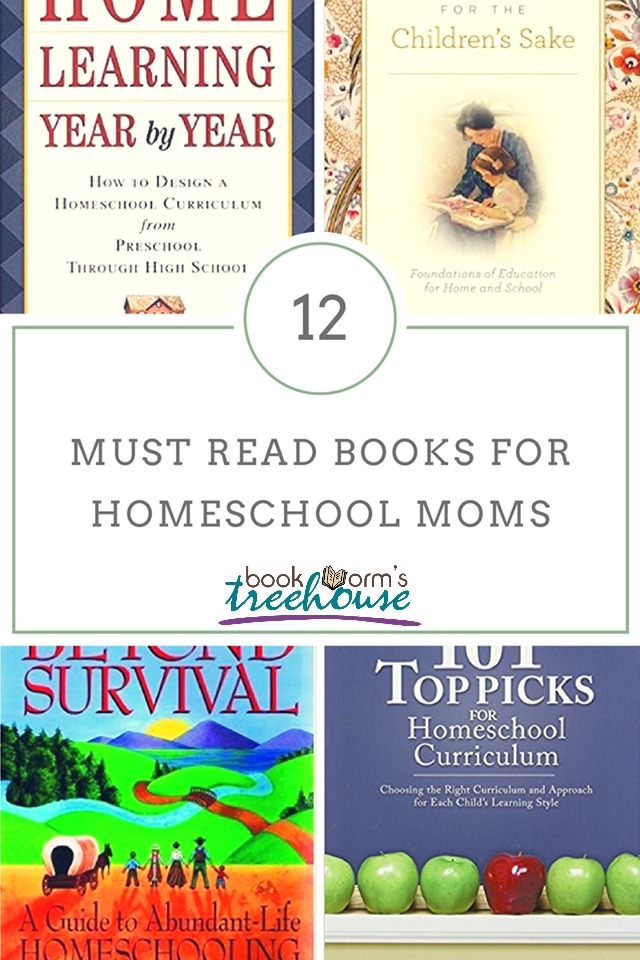 12 Must Read Books for Homeschool Moms