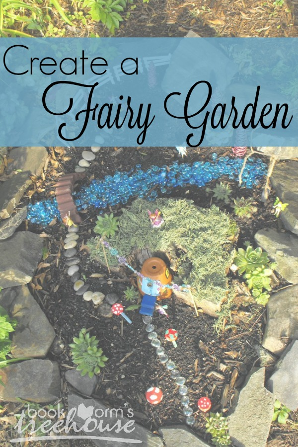 Create a fairy garden with your children!