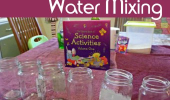 Water Mixing Experiments