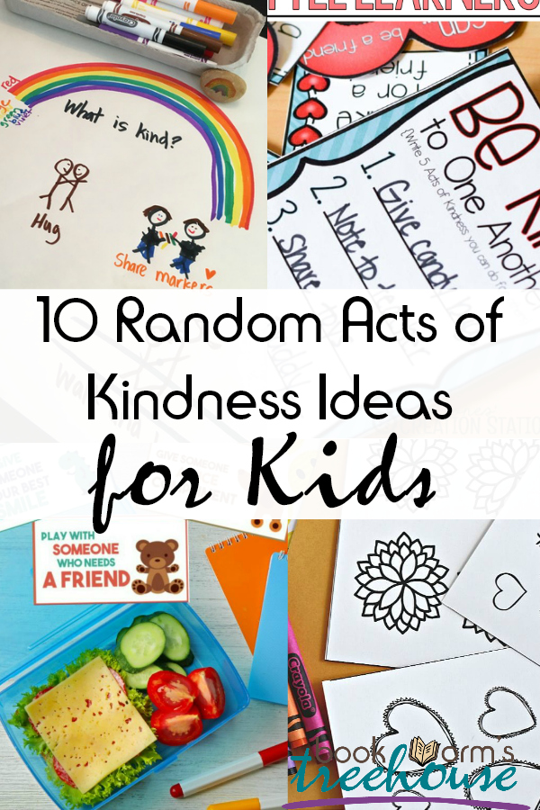 10 Random Acts of Kindness Ideas for Kids