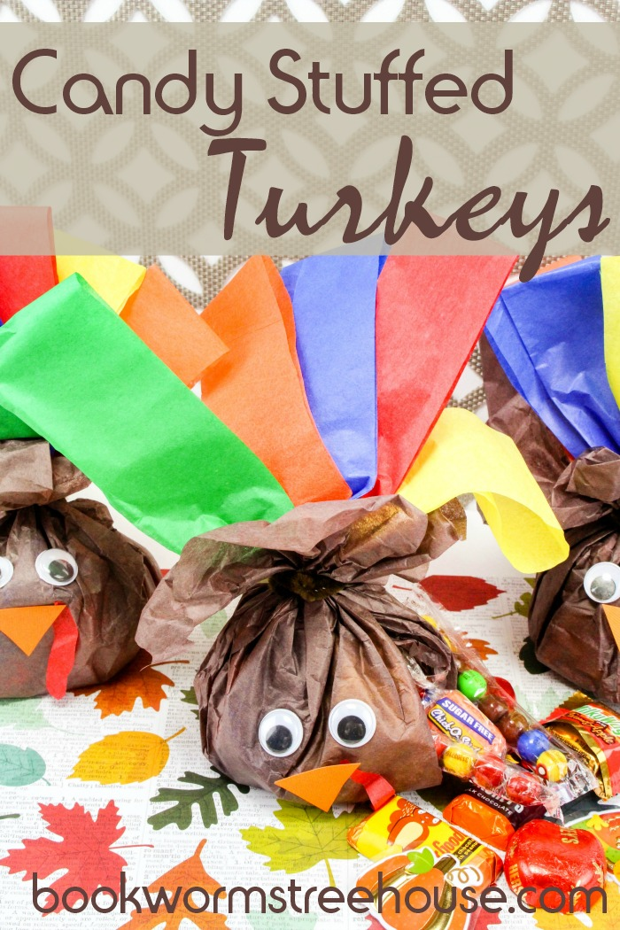 Candy Stuffed Turkeys
