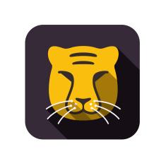 stock-illustration-43474160-animal-face-icon