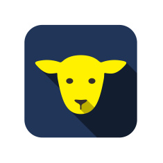 stock-illustration-43476002-animal-face-icon