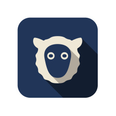 stock-illustration-43476006-sheep-face-flat-icon