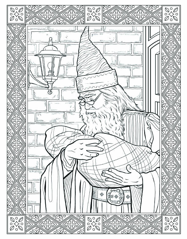 All About the Harry Potter: The Coloring Book