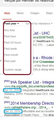 How to Always Show Dates in Google Search Results – Boolean Strings