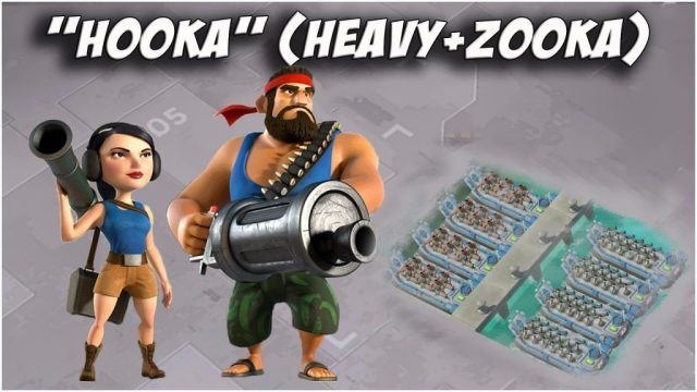 Boom Beach Heavy and Zooka